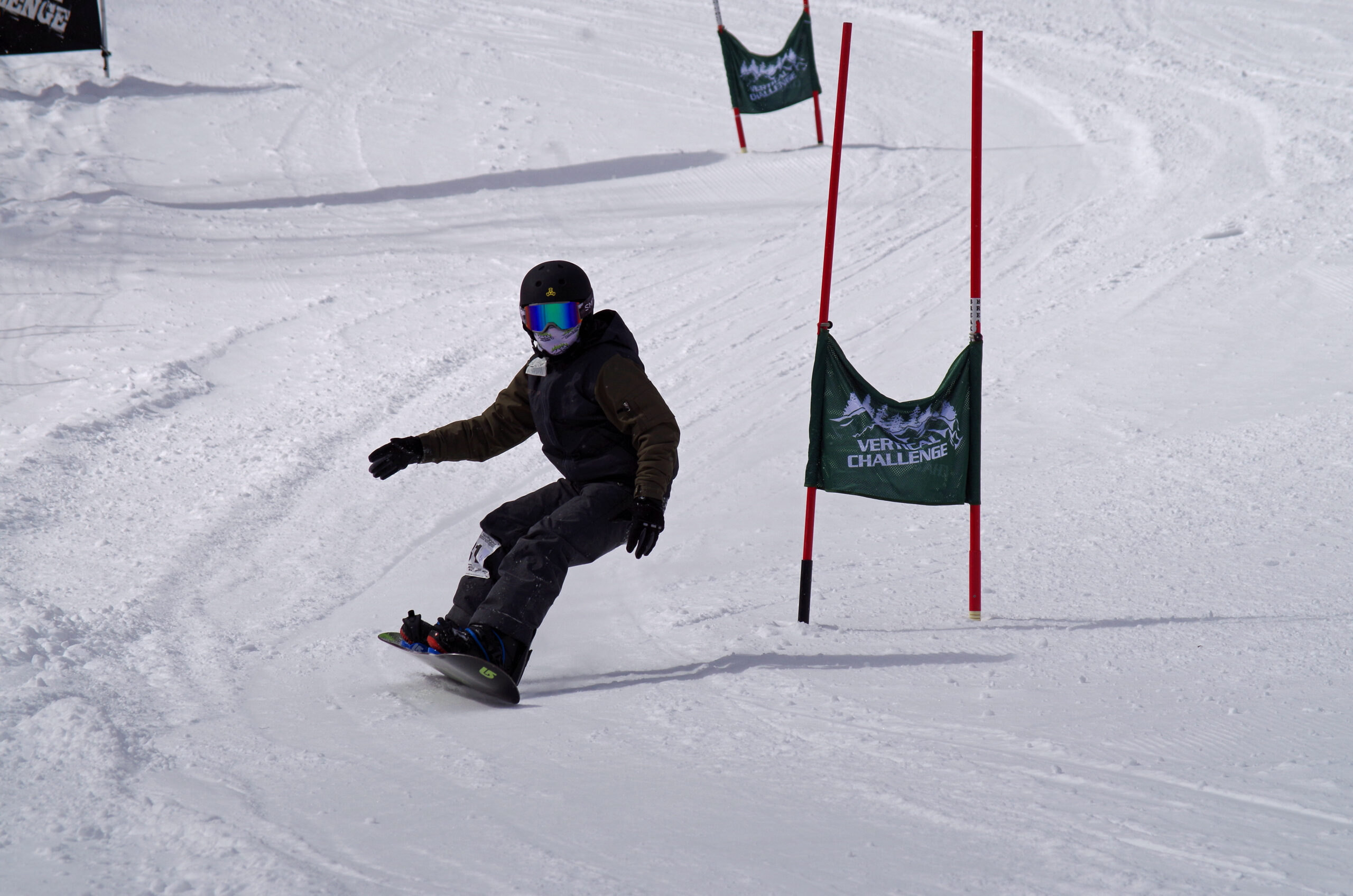 Snowboarder at the VC Finals