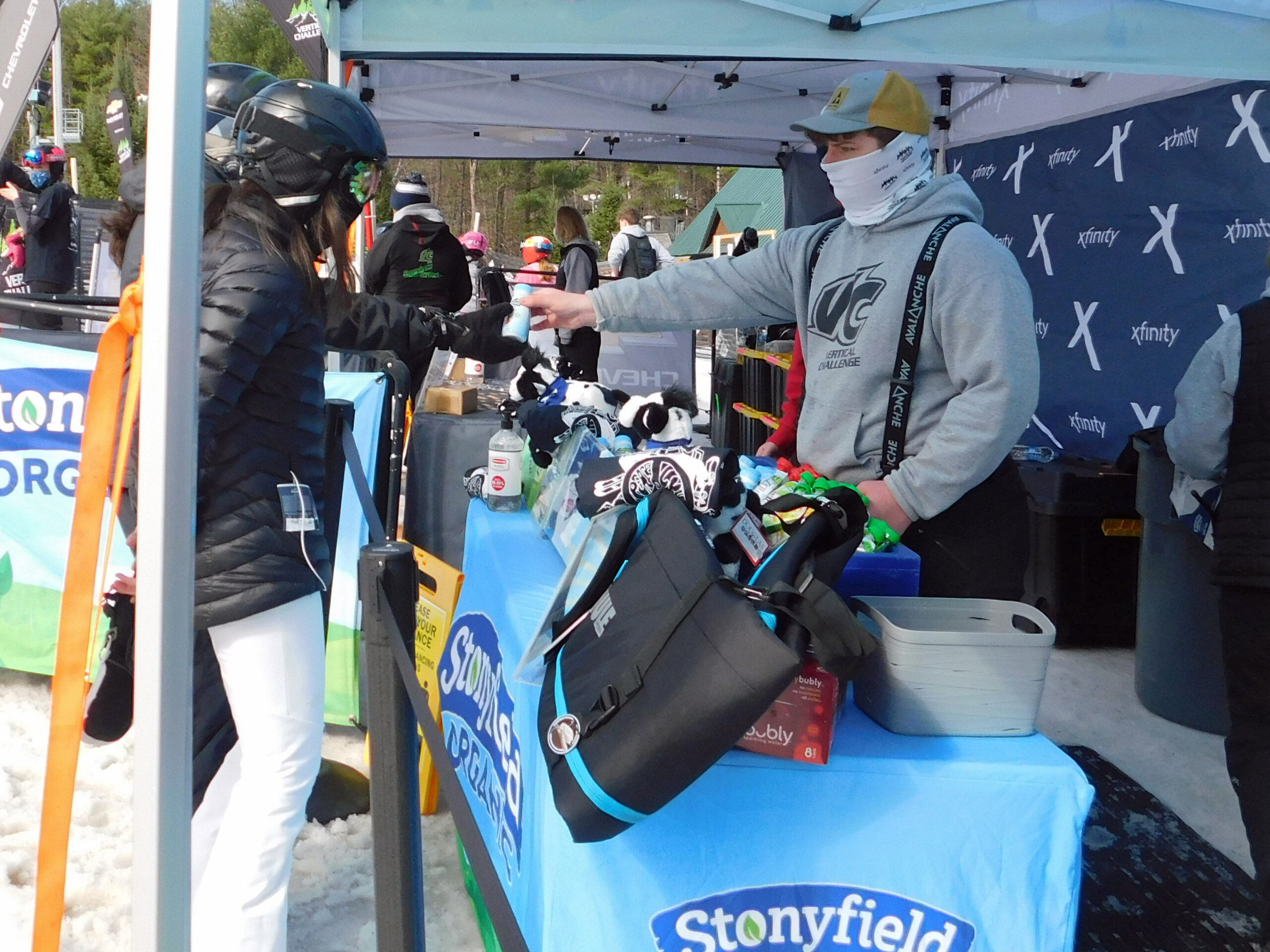 Samples From Stonyfield at the VC